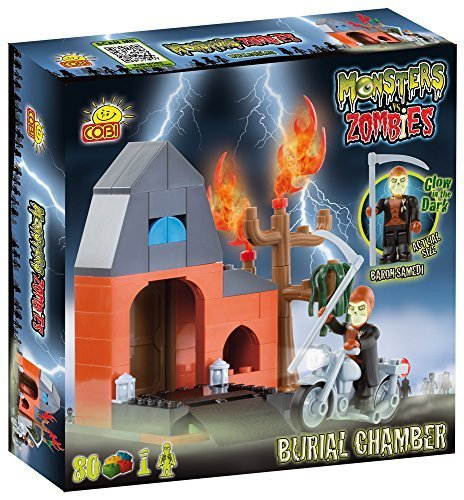 Cobi Monsters vs Zombies Burial Chamber Board Game by COBI