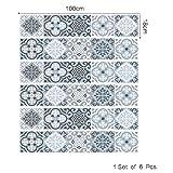 DOGZI Aufkleber Wandtattoos Wandaufkleber - DIY Schritte Aufkleber Abnehmbare Treppe Aufkleber Home Decor Keramik Fliesen Muster