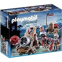 Playmobil Caballeros - Playset con figuras del halcón con cañón (6038)