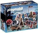 Playmobil- Knights Giocattolo Cannone Gigante dei Cavalieri del Falcone, Multicolore, 6038
