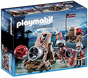 Playmobil 6038 jeu de construction chevalier aigle canon g ant amazo - Playmobil geant a vendre ...