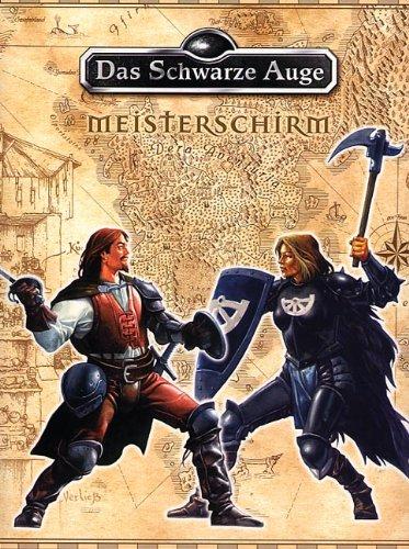 dsa meisterschirm Das schwarze Auge - Meisterschirm für die 4. Edition - Spielhilfe