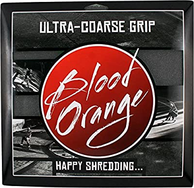 Blood Orange X-Coarse Grip 4 Squares [Black] 10x11 by Blood Orange