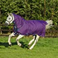 Horseware Amigo Bravo 12 Plus Turnout Lite 0g PONY - Purple/Navy