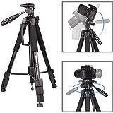 Kamera Stativ-JIABAO 176.5cm/70'' Dreibein-Stative/Einbeinstativ Aluminiumlegierung Stativ Kompakt Leichtes Stativ für…