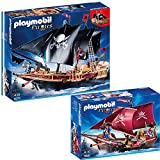 PLAYMOBIL® Piraten 2-tlg. Set 6678 Piraten-Kampfschiff