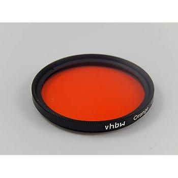und Außengewinde orange für 40,5mm Objektivgewinde Kamera Farbfilter mit Innen