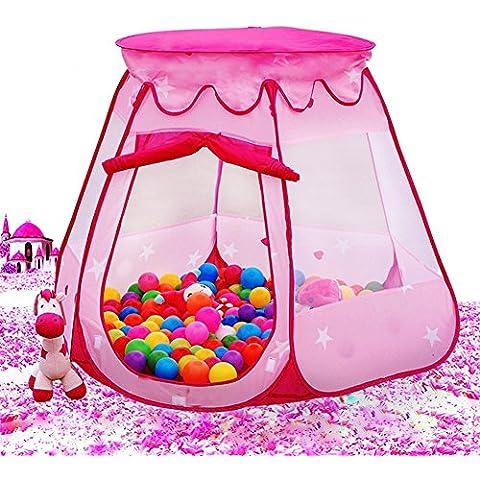 MAIKEHIGH tenda del gioco Hut sfera Pit Giocattoli Meshing coperta e all