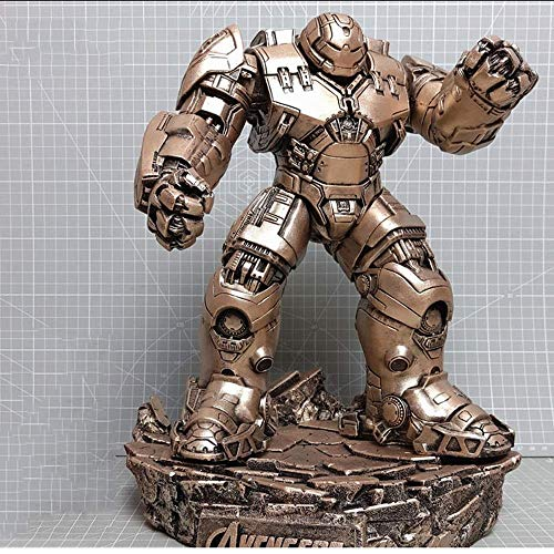 JTWMY Modell Puppe Hulkbuster Iron Man The Avengers Action Figure-Abnehmbare unabhängige Basis, Boutique (Farbe : B)