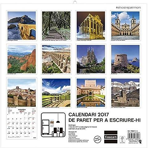 Calendari paret el nostre patrimoni 2017