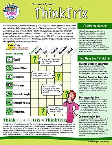 Kagan kooperatives lernen thinktrix SmartCard (TTT)