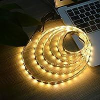 USB Power Led Strip Lights,Waterproof 5M 60leds/m SMD 3528 5V Warm White Desktop PC Screen Backlight,TV Backlight,Ribbon Light,Rope Lighting,Kitchen Led Lighting Decor Tape LED Strip Lamp from XSY Factory