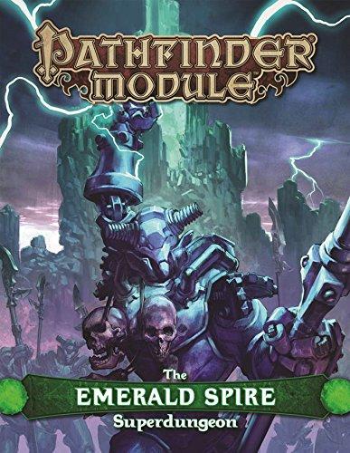 Pathfinder Module: The Emerald Spire Superdungeon por Keith Baker