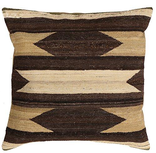 Vente, faite à la main authentique Kilim Housse de coussin Taie d'oreiller style vintage, 58 cm x 58 cm/55,9 cm/55,9 cm (1322) Liquidation de stock