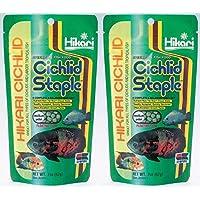 Hikari Cichlid - Grapa mediana de pellet (250 g, 2 unidades), color morado