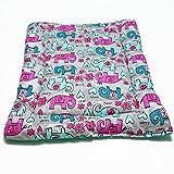 Katzenmatte -Süße Elefanten - mit Katzenminze/Baldrian