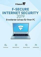 F-Secure Internet Security 2019 - 1 Jahr / 1 PC für PC [Online Code]