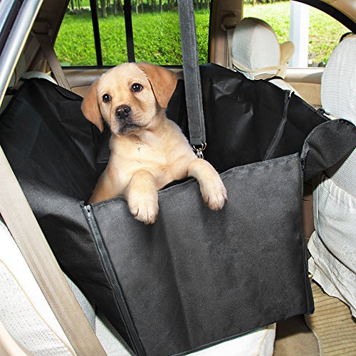GHB Dog Car Seat Cover Back Seat Cover Waterproof