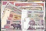 Europe 20 différents billets de banque (billets de banque pour les collectionneurs)