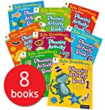 Julia Donaldson Songbirds Phonics Activity Book 1-8, Oxford Reading Tree