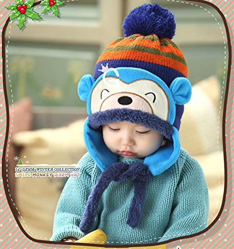 8cd31fdeb Generic Brown : Retail 6-48 Months soft acrylic fibers thickened woolen  woollen cap hat baby children infant kids spring autumn fall winter