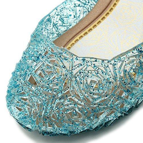 newest f1033 67a10 Scarpe Di Frozen Elsa - Tutte Le Taglie (30 = Piede 18Cm Lungo)