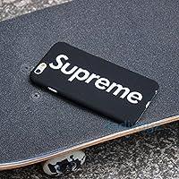 Supreme iPhone 7 H¨¹lle en Schwarz