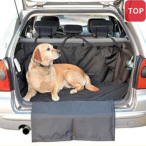 Doubili Hunde Autoschondecke Kofferraum Rutschfest Robust und Wasserdicht 160 x 120cm Schwarz