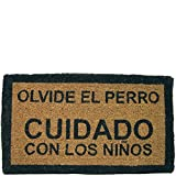 Laroom Felpudo, Yute, Marrón..