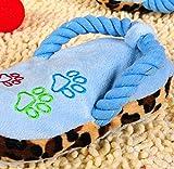 Fulla2116 animali domestici cuccioli peluche Ton–Cartella sospesa quietschender masticare (Cielo Blu)