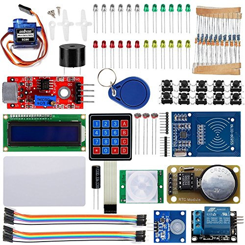 Price comparison product image OSOYOO 2017 RFID Security Master Starter Kit for Arduino UNO R3 (18 components included)