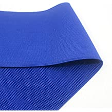 iCraft 4-inch Wide Colored Patterned Waistband Elastic Bands By 2-yard (Royal Blue) by iCraft