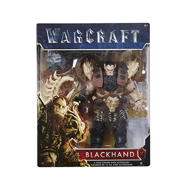 Warcraft 6 Blackhand Action Figure With Accessory by Warcraft 5