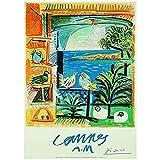 Editions Clouet 50112 - Affiche Touristique 50x70 cm Picasso - Les Pigeons - Cannes