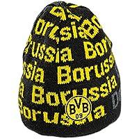 Borussia Dortmund Kindermütze, Schwarzgelb, Polyester, BVB-Emblem (schwarz)