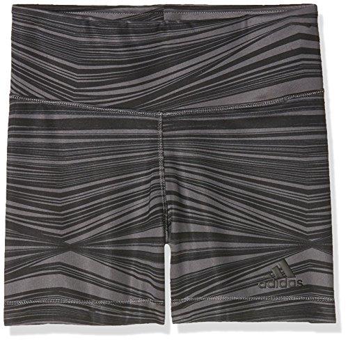 adidas Mädchen Training Short Tights, Grefiv/Black, 164