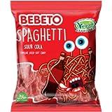 BEBETO Sour Cola Spaghetti, 70g