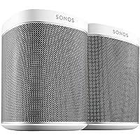 Sonos Play 1 Doppelpack Netzwerk Lautsprecher Weiß