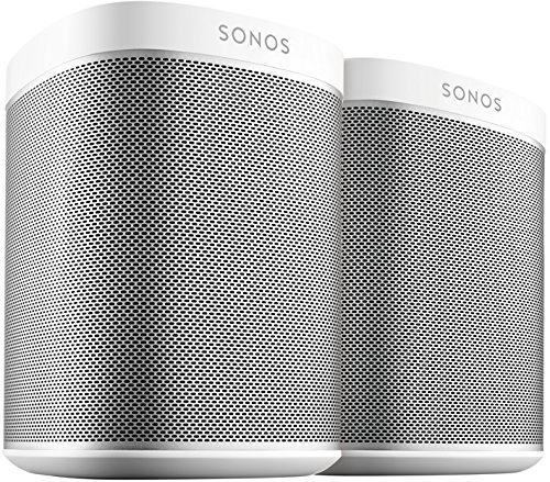 2 Room Starter Set I 2 Sonos PLAY:1 Smart Speaker (weiß)