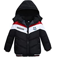 2019 Boys Coats And Jackets Size 5 6 7 8 9 10 11t Age Heavyweight Husky Winter Autumn Fall Clothing Thickening Hood Wool Zipper Down Jackets Girls