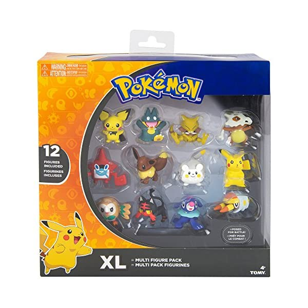 TOMY Pokémon XL Multi Figura Pack 3