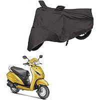 AutoFirm Scooty Body Cover for Honda Activa 6G / 5G / 4G / 3G (Grey) | Heavy Duty Scooty Body Cover Dust & Sun…