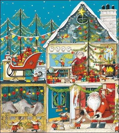 Weihnachtskarten (wdm8489)–Santa