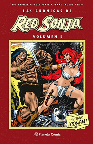 Crónicas de Red Sonja nº 01/04 (Independientes USA) por Roy Thomas