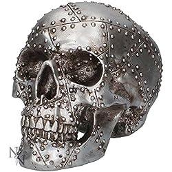 Nemesis Now–Horror de cabeza Cráneo–Figura decorativa (19cm)