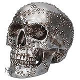 Nemesis Now–Tête de mort rivetée–Figurine d'horreur–19cm