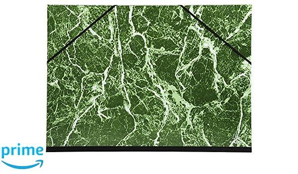 Verde 32x45 cm Exacompta 632E Cartelle Porta Disegni e Valigette