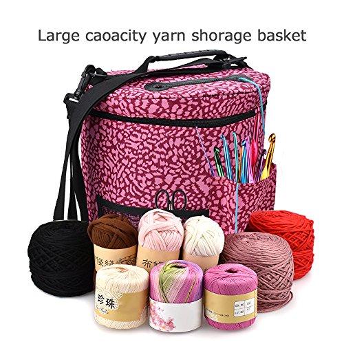 Bloomma Einkaufstasche, Tasche, Polyester-Garn, Wolle und 2, mit Schultergurt, 27,5cm x 32,5cm a