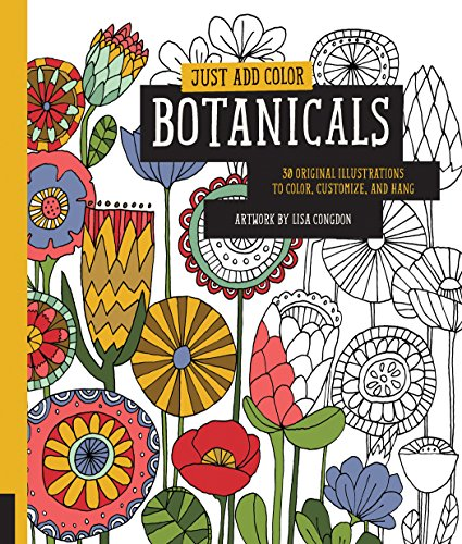 Just Add Color: Botanicals (Just Add Colour)