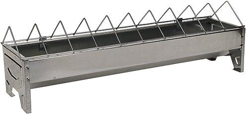 Beeztees 18124 Futtertrog für Geflügel aus Metall, 50 cm